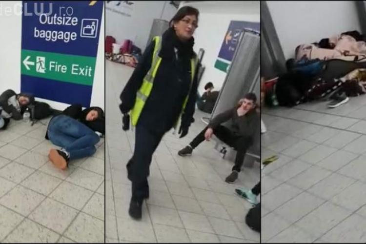 Wizz Air a UITAT de călătorii ce veneau la Cluj pe aeroportul Luton - VIDEO