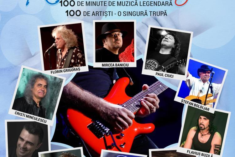 """Evenimentul lunii noiembrie la Cluj: """"100 pentru România"""". 100 de artiști, instrumentiști și soliști cântă timp de 100 de minute"""