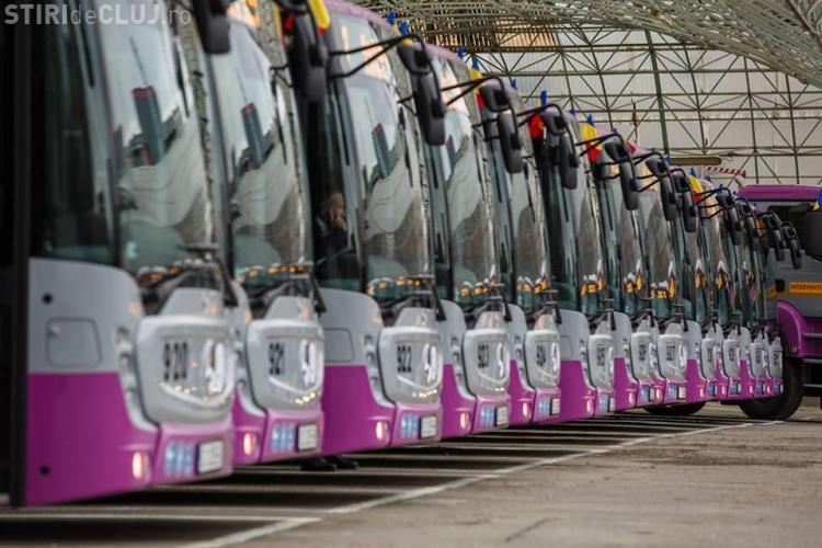 """CTP Cluj a dat în folosință 30 de autobuze Mercedes. Cât costă și ce """"minuni"""" fac - FOTO"""