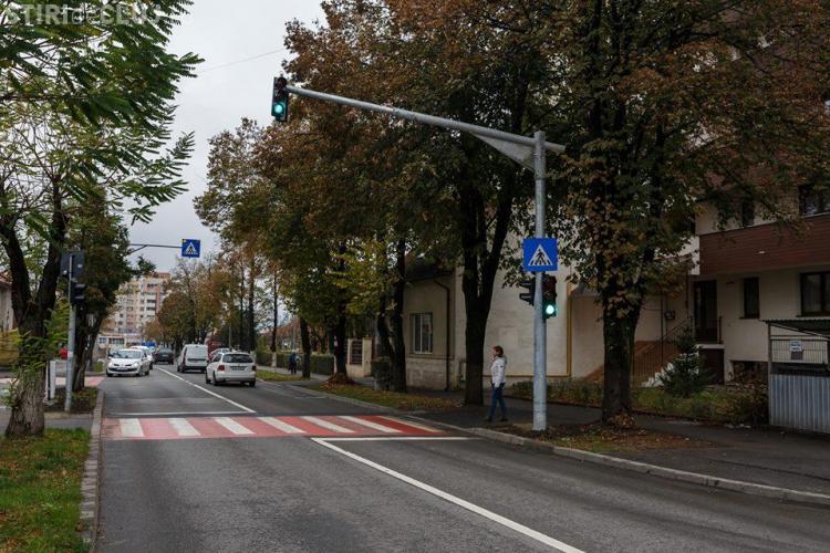 Trei noi semafoare au fost puse în funcțiune la Cluj. Vezi pe ce străzi