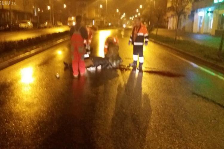 Accident mortal la Turda! Două persoane au fost spulberate în timp ce traversau strada FOTO