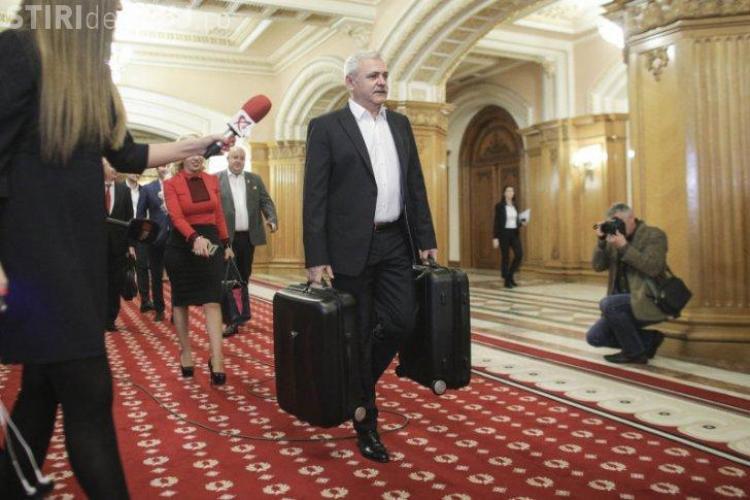 Liviu Dragnea, a venit cu două valize de dosare la CEx PSD: Am primit două valize, cu gogoși și documente care nu au ajuns la DNA