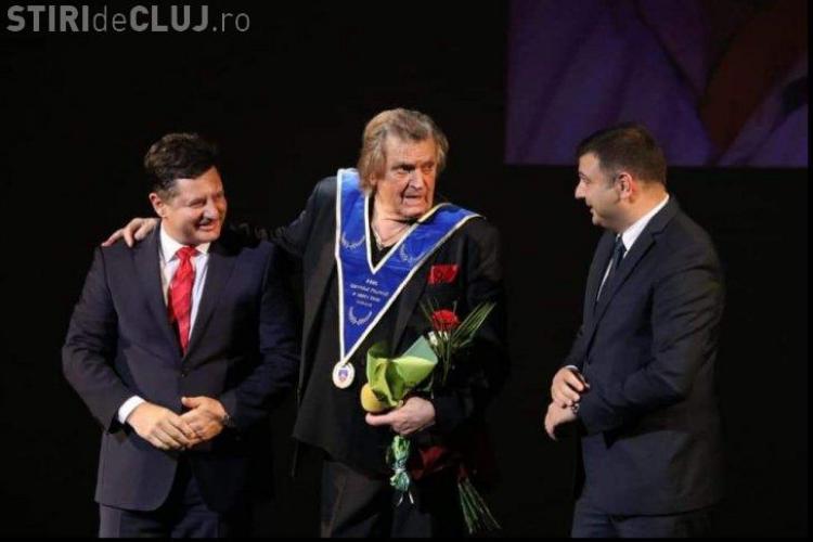 Florin Piersic a primit Colanul Marii Uniri
