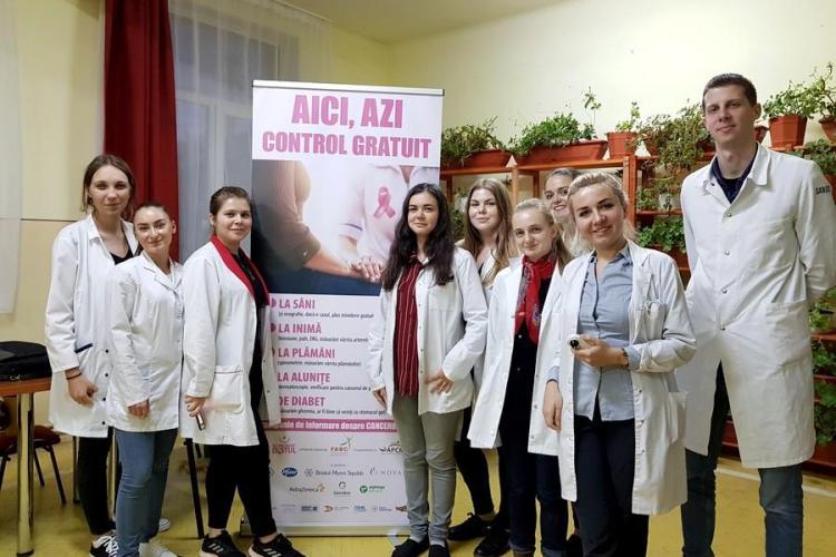 Testări gratuite pentru depistarea cancerului de sân la Băișoara și Căpușu Mare