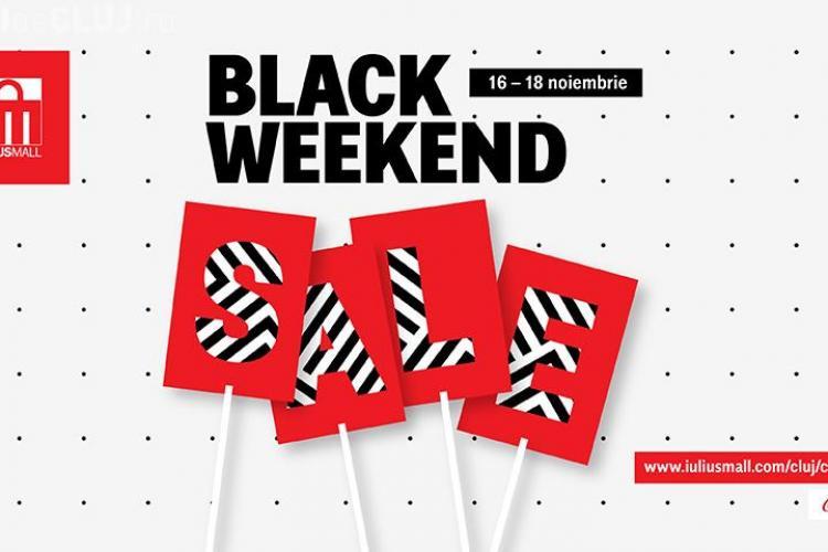 Trei zile cu promoții de până la 80%, de Black Weekend, la Iulius Mall Cluj