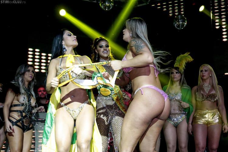 Celebrul concurs Miss BumBum, încheiat cu o bătaie VIDEO