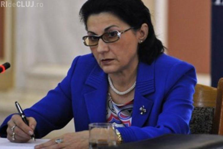 Ecaterina Andronescu e OFICIAL noul ministru al Educației
