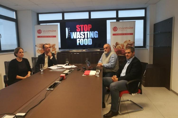 """Campania """"Nu arunca pâinea"""", lansată la Cluj de către La Lorraine. Românii aruncă anual alimente care pot hrăni Clujul 20 de ani VIDEO"""