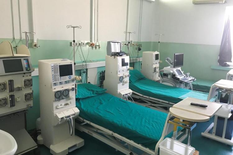 Dotări cu echipamente la Institutul Clinic de Urologie și Transplant Renal a primit - FOTO
