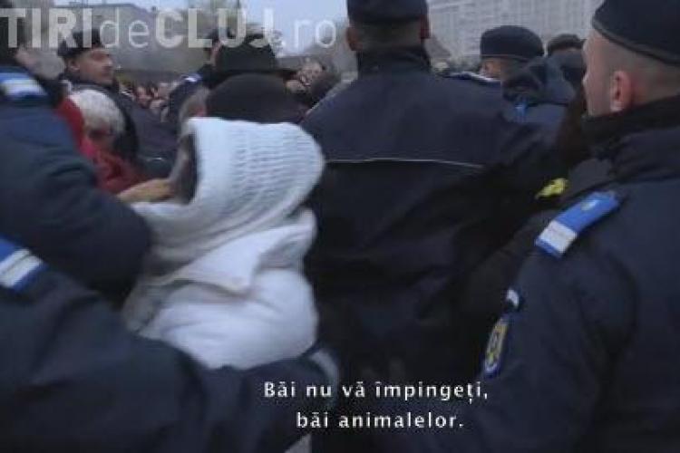 VIDEO de la sfințirea catedralei Mântuirii Neamului: Nu vă mai împingeți, măi animalelor!