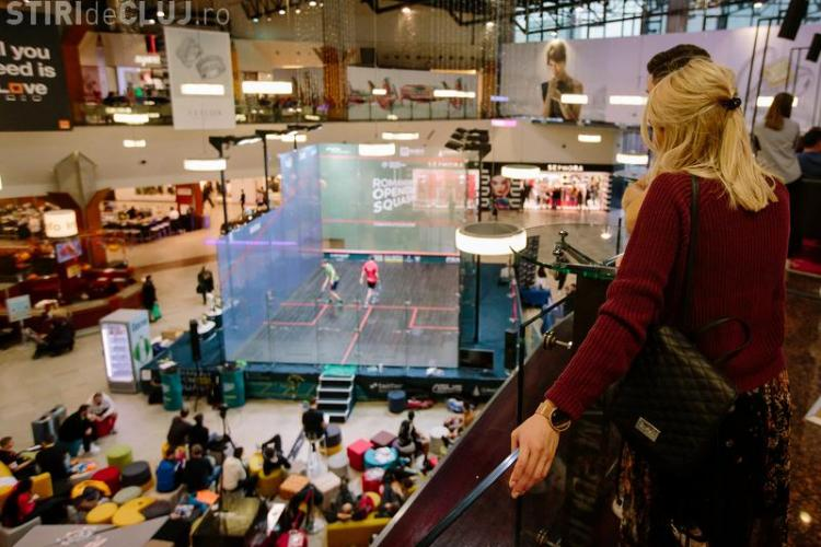 Turneu internațional Open Squash, în week-end, la Iulius Mall Cluj