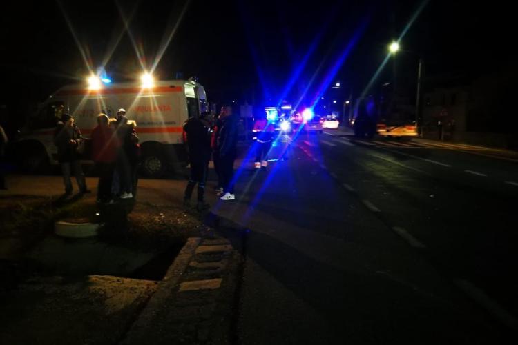 Accident mortal la Răscruci. Un pieton a fost spulberat de autobuz