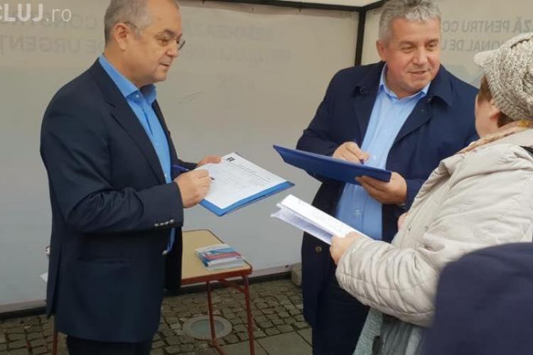Boc mai dă o palmă Guvernului PSD, care pedepsește Clujul. Semnături pentru Spital
