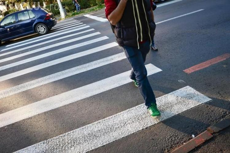 Apar noi treceri de pietoni în Cluj-Napoca