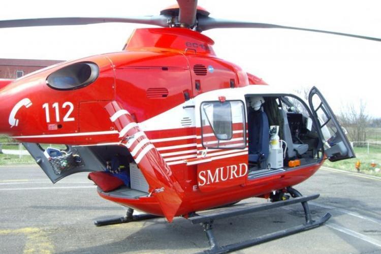 Elicopterul SMURD ajunge la casat și heliportul de la Jibou tot nu e terminat