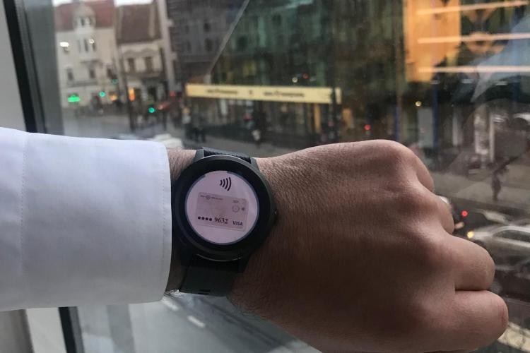 Banca Transilvania şi Garmin lansează plața contactless prin smartwatch