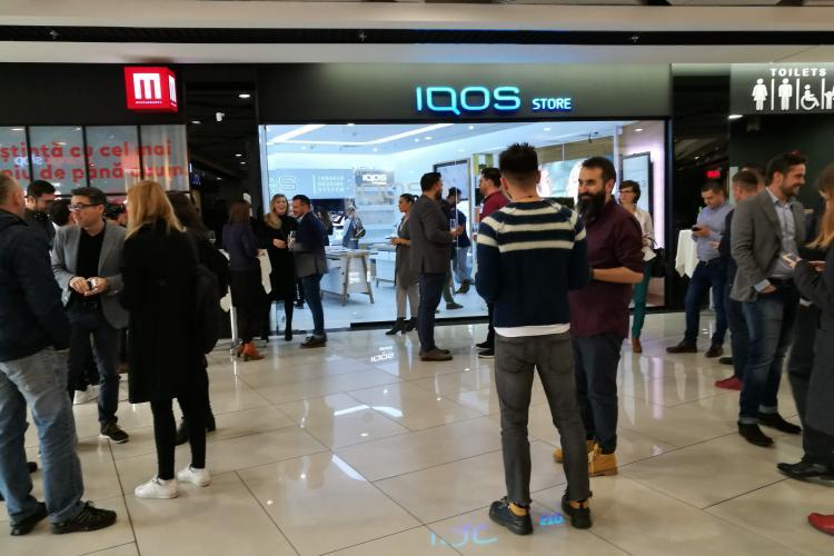 Phillip Morris a lansat la Cluj cea mai recentă generație de produse IQOS, liderul produselor de tutun încălzit (P)