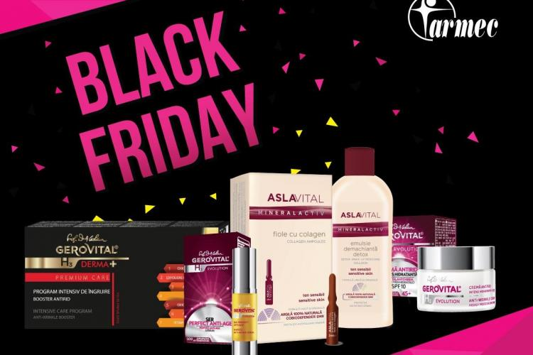 Farmec participă la campania Black Friday și vine cu noi oferte și surprize pentru consumatori (P)