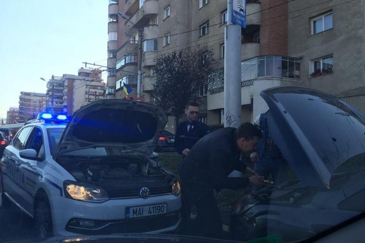 Cluj: Gest incredibil al unui polițist. Jos pălăria și aplauze! - FOTO