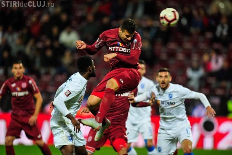 CFR Cluj s-a calificat în sferturile Cupei României - REZUMAT VIDEO