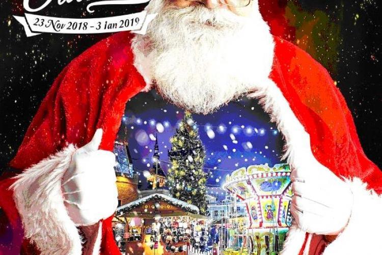 """""""Satul lui Moș Crăciun"""", la Florești. Vezi care sunt principalele atracții"""