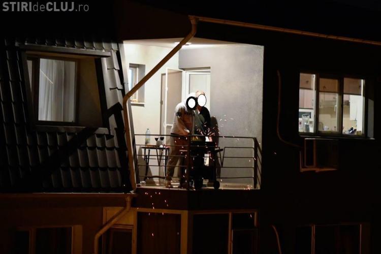 Cluj: Grătar în mansardă. Așa iau foc clădirile - FOTO