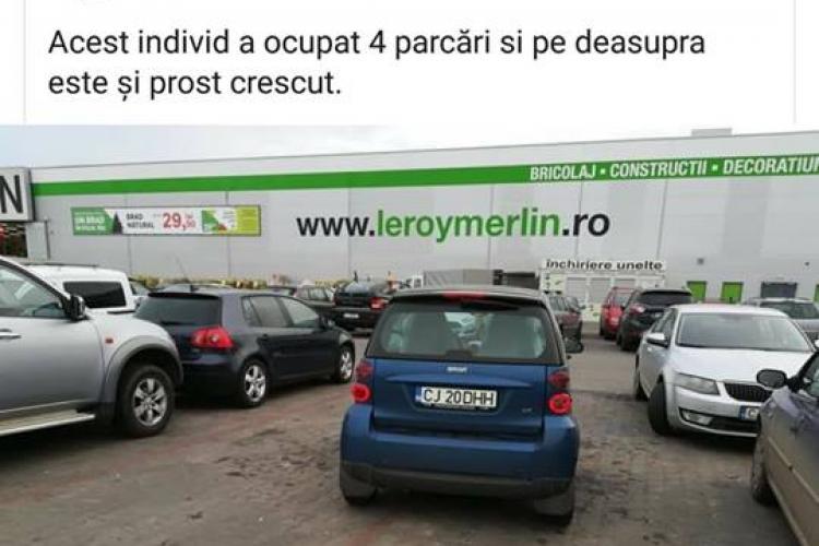 Cluj: L-a lovit un Smart, dar Poliția zice că nu există mașina. Surpriza a venit ulterior