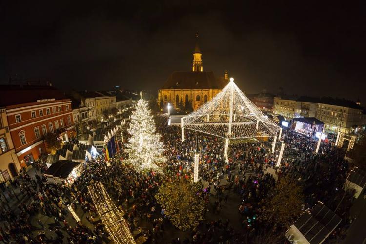 Un șofer acuză abuzurile Poliției Cluj la Târgul de Crăciun. E ABUZ sau e PUTEREA LEGII?