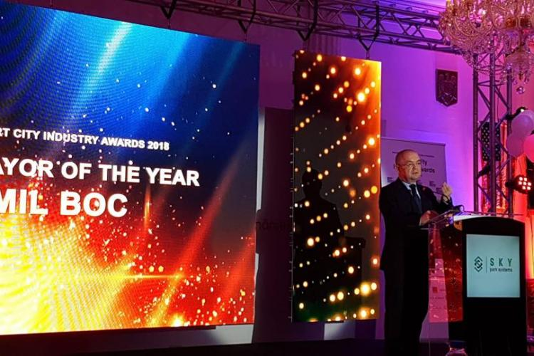 """Boc a primit premiul """"Primarul Anului"""""""