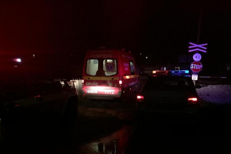 Clujean decapitat de tren la Apahida - FOTO