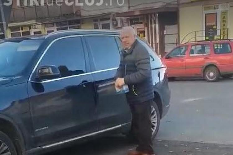 Patronul Mariflor Gherla, acuzat că UMILEȘTE o polițistă. A dat cu ușa BMW -ului peste femeie - VIDEO