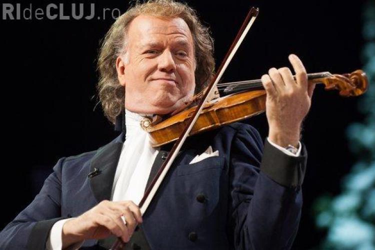Cluj: ANDRE RIEU se vinde bine. S-au scos la vânzare biletele la al treilea concert