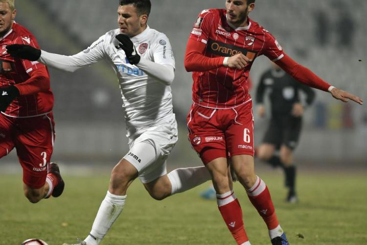 """Țucudean despre corecția de 3-0 aplicată Dinamo: """"Am profitat de situația lor!"""""""