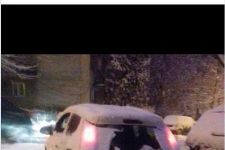 Nu mai suntem oameni! Se amenință cu moartea la Cluj pentru un loc de parcare - FOTO