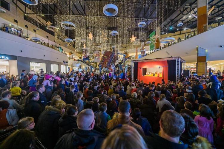 Program Iulius Mall Cluj de Crăciun 2018 și Revelion 2019