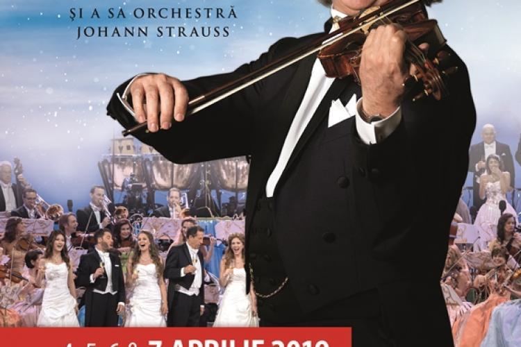 """Concert Andre Rieu - Cluj. """"REGELE VALSULUI"""" a vândut biletele și la al treilea concert"""