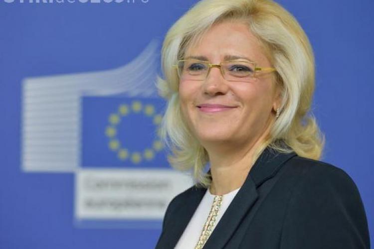 Corina Creţu a lăudat Clujul și Oradea: Ardealul, campion la atragerea banilor europeni