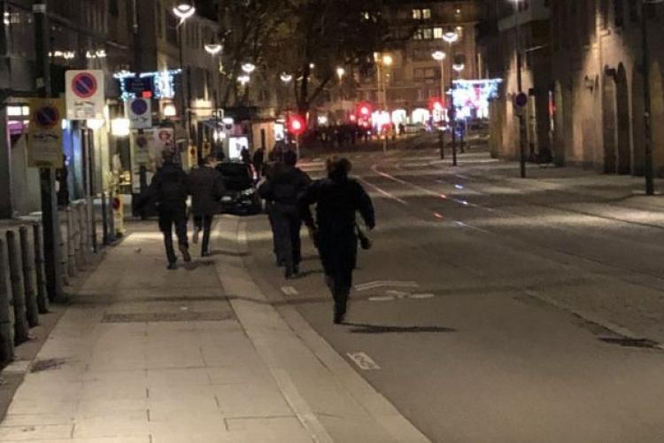 Împuşcături la Strasbourg, la Târgul de Crăciun