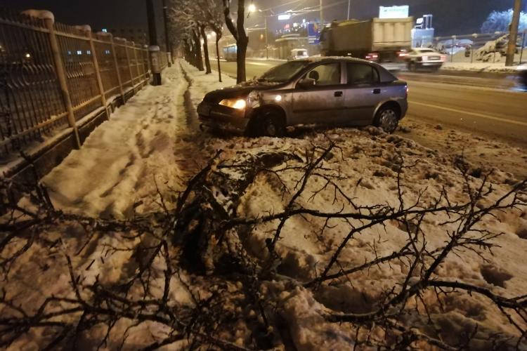 Viceprimarul Clujului, Dan Tarcea, e fermecat de iarna de afară: Orașul este feeric