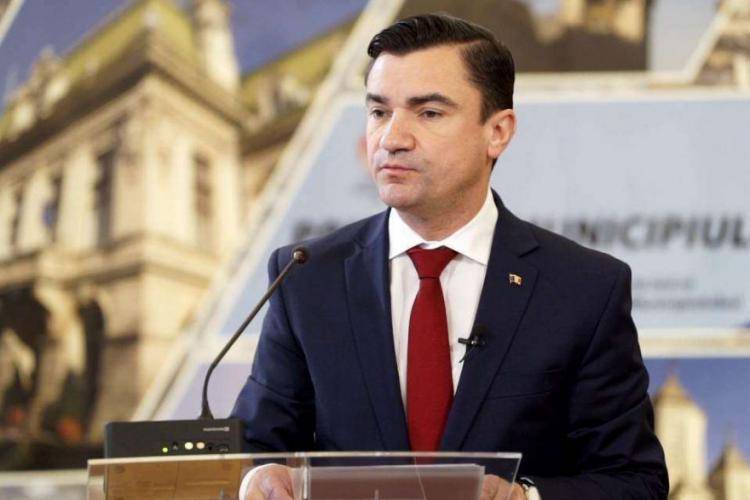 Primarul din Iași, Mihai Chirică, propune o alianță cu Cluj-Napoca