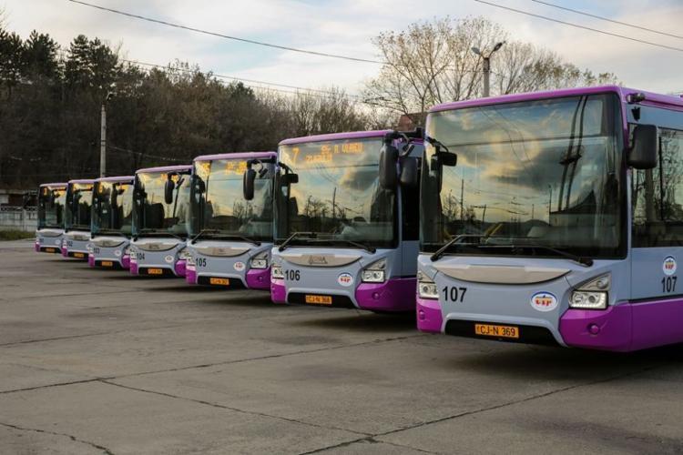 CTP Cluj - Programul de Crăciun 2018 și Revelion 2019 al mijloacelor de transport în comun
