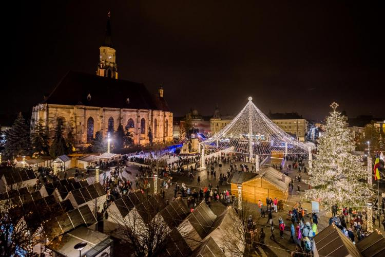 Târgul de Crăciun de la Cluj, pe locul 10 în topul destinațiilor de profil din Europa