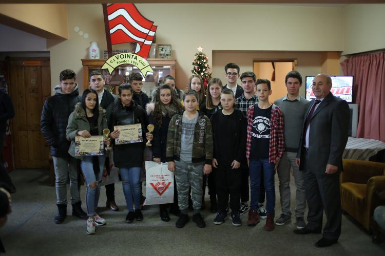 """Gala celor mai buni sportivi ai Clubului Sportiv """"Voința"""" Cluj-Napoca"""