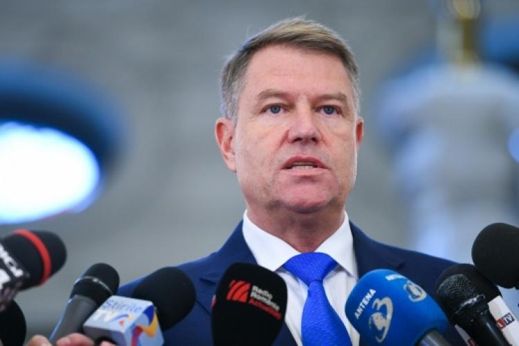 Klaus Iohannis atacă taxa pe lăcomie: E lăcomia pesediştilor de a lua bani mai mulţi