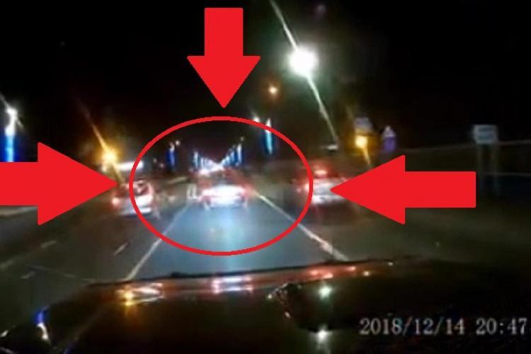 Șicanare în trafic la Metro Florești? Doi pietoni au scăpat cu viață ca prin minune - VIDEO