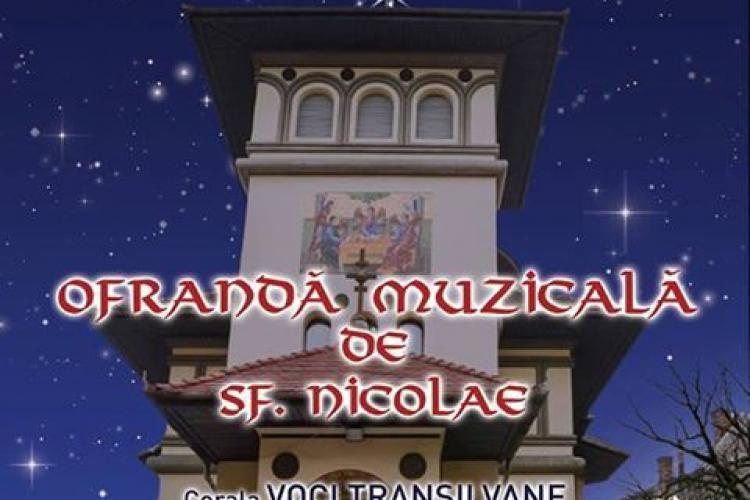 "Concert al coralei ""Voci Transilvane"", la Biserica Sfantul Nicolae, de pe strada Horea"