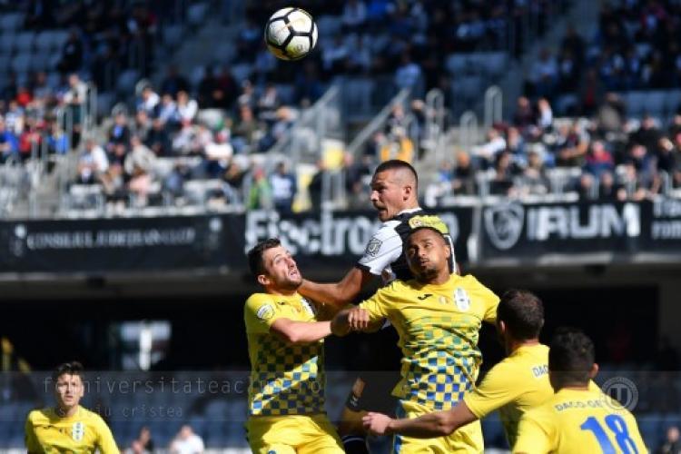 U Cluj joacă derby -ul cu Chindia. E totul sau nimic pentru primul LOC