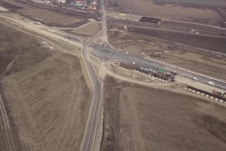 S-a deschis tronsonul din Autostrada Transilvania, Iernut și Ungheni. Atenție la tren - VIDEO