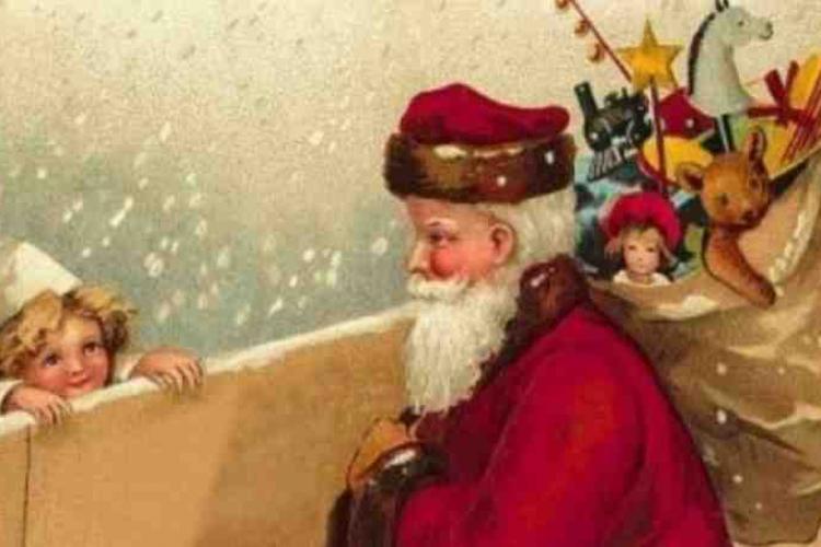 Copii, Moș Nicolae vine în Piața Unirii