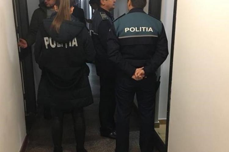 Tânăr prins locuind ilegal într-un cămin din Cluj. S-a ales cu dosar penal și cu amendă FOTO